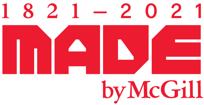 1821-2021 - Made by McGill
