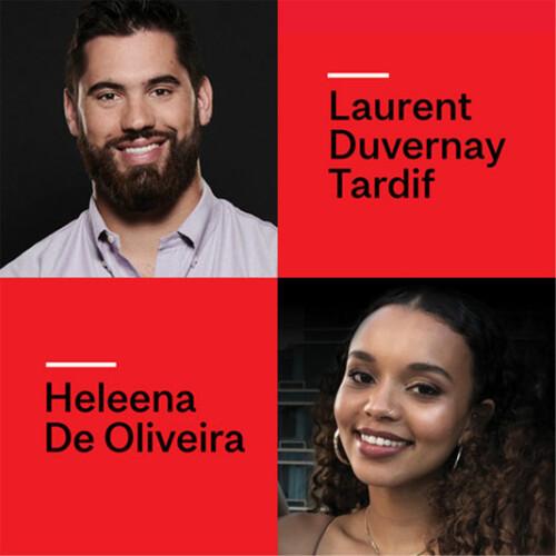 Laurent Duvernay Tardif and Heleena De Oliveira
